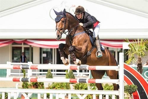 In ihrem letzten Jahr in der Klasse Junge Reiter holte sich Laura Lehner den nationalen Titel. Foto: Manfred Leitgeb