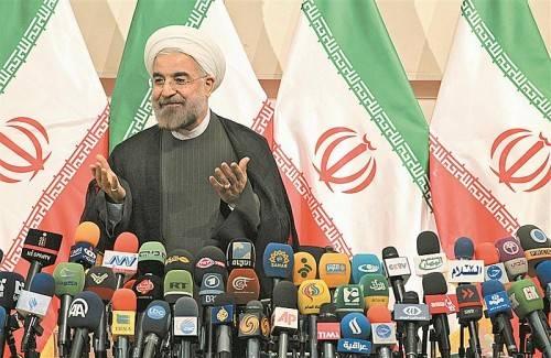 Irans neuer Präsident Rohani überrascht: Sein Außenminister verurteilt die Judenvernichtung. Foto: EPA