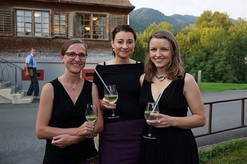 Isabella Fink, Anna Barbara Koland und Eva Baumgartner.  L. Berchtold