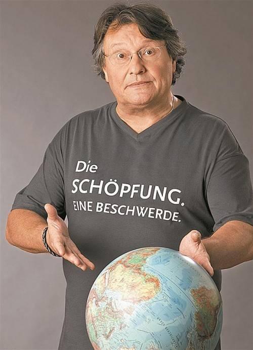 """Joesi Prokopetz tourt mit seinem aktuellen Kabarett """"Die Schöpfung. Eine Beschwerde"""" im Oktober durch Vorarlberg. Foto: monika loeff"""