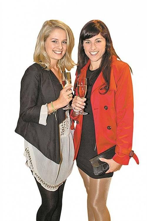 Johanna Held (l.) und Petra Kathan.