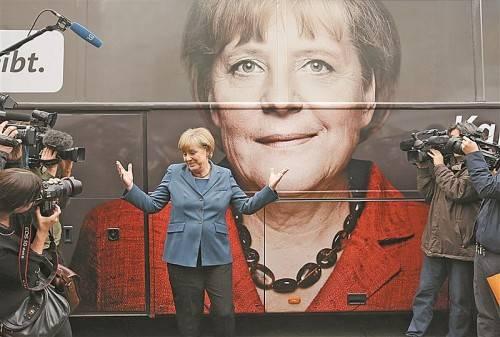 Kanzlerin Angela Merkel will die Liberalen im Wahlkampf nicht unterstützen. Sie könnte dennoch wichtige Stimmen an die FDP verlieren. Foto: REUTERS