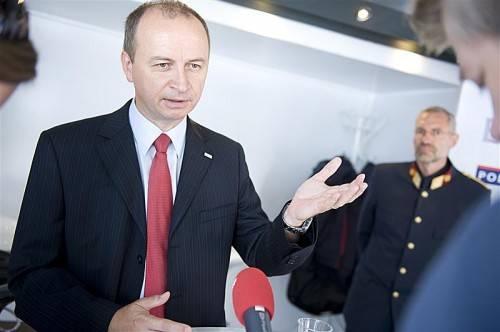 Konrad Kogler, Generaldirektor für die öffentliche Sicherheit, war auf der Dornbirner Messe zu Gast. Foto: beate Rhomberg