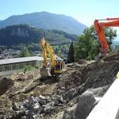 Baubeginn für neuen Trakt am Institut St. Josef