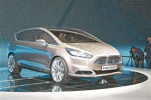 Künftiger Ford S-Max: er ist schlank, rank und mit Herzsensoren ausgestattet.