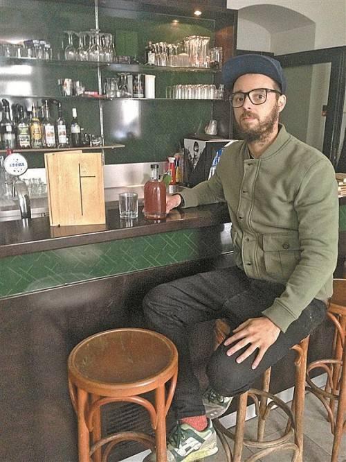 Luke Bereuter aus Riefensberg übernimmt die Gastronomie im neuen Stadtkino im Künstlerhaus am Karlsplatz. Foto: Bereuter