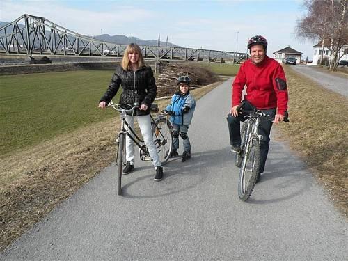 Lustenau hat bereits einen Anteil von 22 Prozent an der umweltfreundlichen Mobilität. Foto: eh
