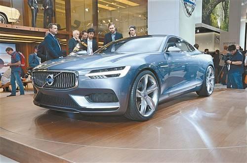 Markanter Auftritt soll Premiumpositionierung von Volvo stärken.