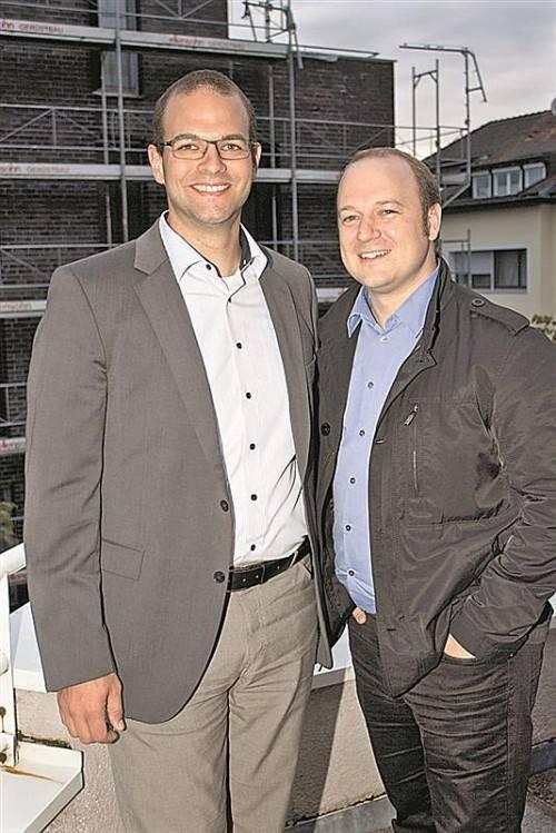 Markus Scheffknecht (l.) und Marc Isele.