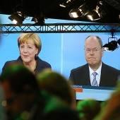 Merkel und Steinbrück: TV-Duell blieb sachlich
