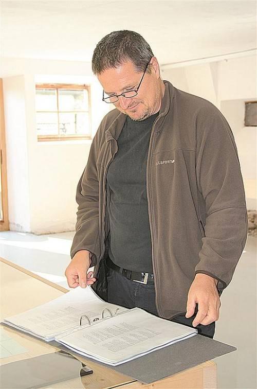 Michael Mittermayer liefert eine interessante Auseinandersetzung mit historischen Fakten und der Verwendung von Sprache. Foto: AG