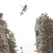 Über Rettung und Suche aus der Luft