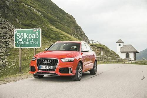 Mit dem neuen Audi RS Q3 sind es bereits acht Modelle, die aus der Werkstatt der Quattro GmbH stammen. Fotos: werk