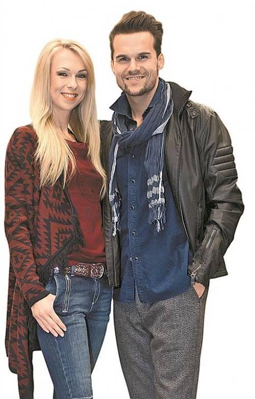 Models Savka Vukovic und Dejan Krst. FOTOS: VN/P. Steurer