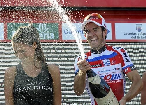Moreno feierte den zweiten Tagessieg bei der Vuelta 2013. Foto: epa