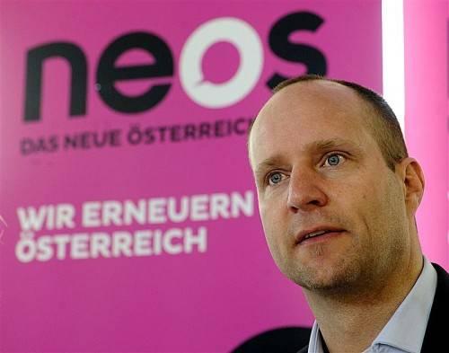 NEOS-Spitzenkandidat Matthias Strolz ist optimistisch. Foto: APA