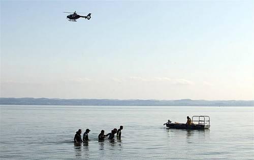 Nach Unglück vermisst: Immer wieder kommt es zu Suchaktionen im Bodensee. Foto: APA