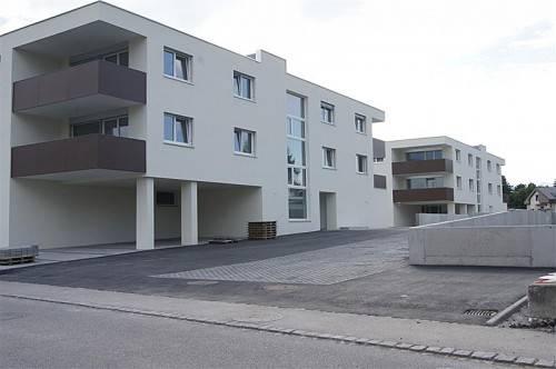 Nach kurzer Bauzeit wird die Wohnanlage bereits im Oktober übergeben, die Gesamtkosten belaufen sich auf rund fünf Millionen Euro. Foto: eh