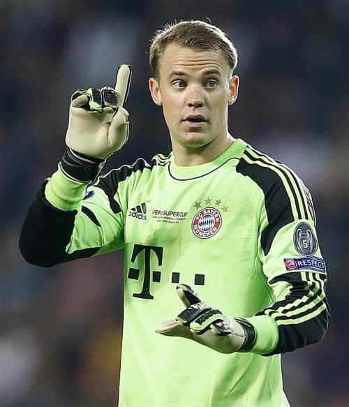 Nächster Meilenstein für Bayern-Keeper Manuel Neuer. Foto: ap