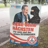 Strohsäcke und Wahlkampfgetöse