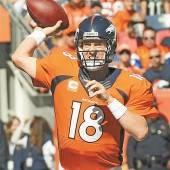 16 Zuspiele von Peyton Manning sind Rekord