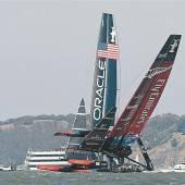 Oracle-Crew mit zweitem Sieg im Americas Cup