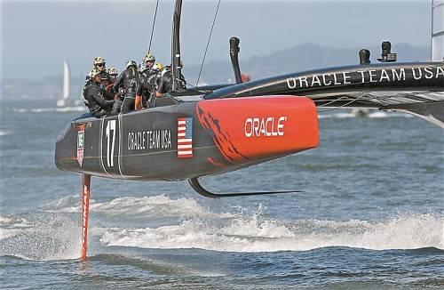 Noch ein Sieg für Titelverteidiger Oracle. Foto: ap