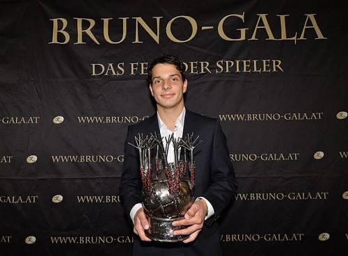 Philipp Hosiner räumte bei der Bruno-Gala der VdF ab. Foto: gepa