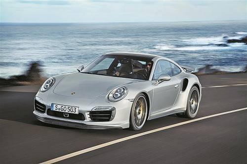 Porsche 911 Turbo: Von den VN schon erprobt, Premiere im September auf der IAA Frankfurt. Fotos: werk