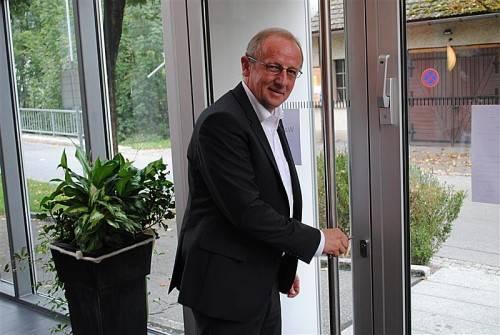 Pünktlich um 10.30 Uhr schloss Bertram Luger das Wahllokal.