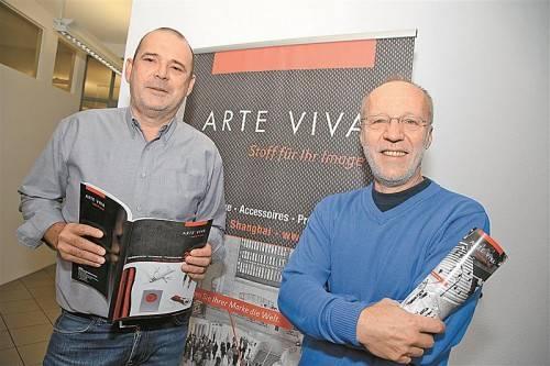 Reinhard Mittersteiner und Walter Joschika haben Arte Viva vor 24 Jahren gegründet. Foto: vn/hofmeister