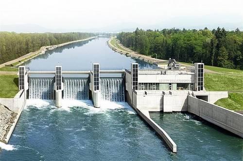 Ressourcenschonende Technologien von Künz im Kraftwerksbau.