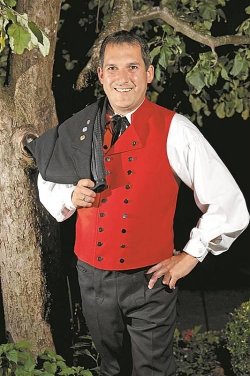 Richard Bilgeri will das Brauchtum und die Geschichte des Bregenzerwaldes fördern, pflegen und erhalten. Foto: l. bERCHTOLD