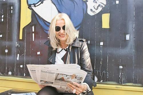 Rita Mittelberger ist begeisterte VN-Leserin. Foto: VN/Tag
