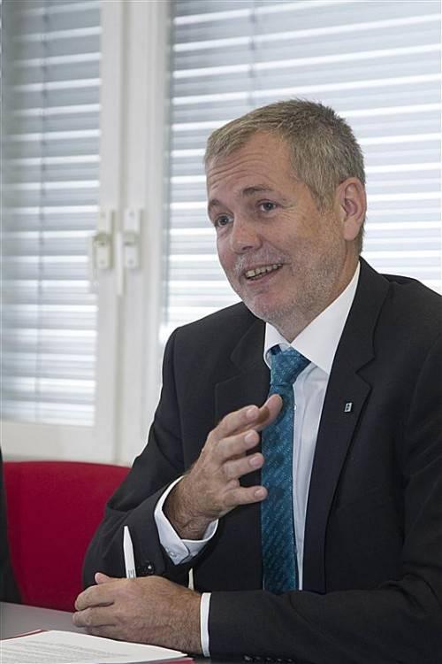 Robert Sturn (VLV), Sprecher der Versicherungsunternehmen.