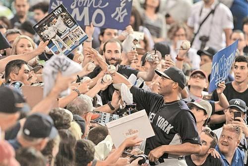 Rücktritt: Yankees-Pitcher Mariano Rivera. Foto: ap