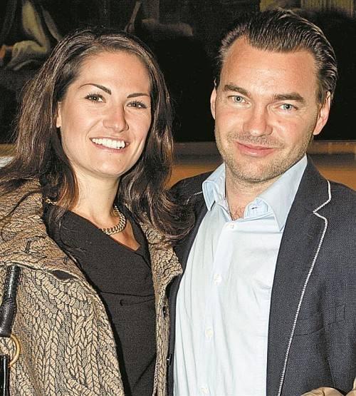 Sarah Fritsch (Sagmeister) und Alexander Boden.