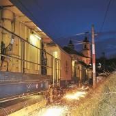 Gleisschliff für weniger Bahnlärm