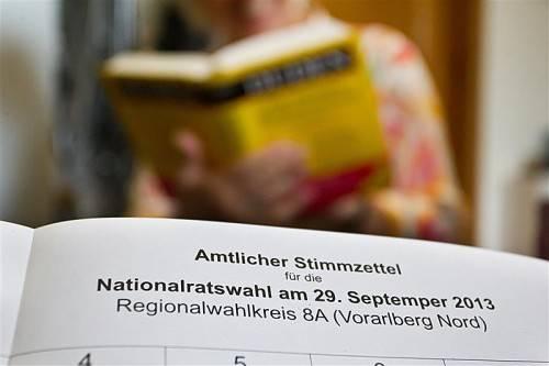 Schlug im amtlichen Stimmzettel zur Nationalratswahl 2013 zu: der gefürchtete Fehlerteufel. Foto: VN/Steurer