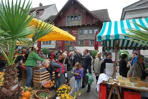 """Seit vielen Jahren ist der """"Dornbirner Herbst"""" ein beliebter Treffpunkt."""