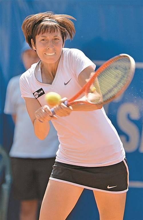 Sieg Nummer drei in Guangzhou: Yvonne Meusburger. Foto: gepa