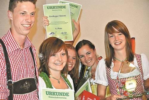 Siegreiches Vorarlberg-Team. Foto: LWK