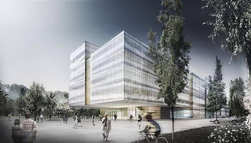 So soll das neue Doppelmayr-Bürogebäude aussehen. Foto: AllesWirdGut Architektur