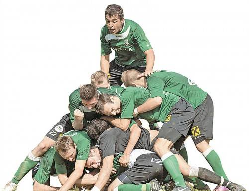 So würden die Spieler des Dornbirner SV heute am liebsten wieder jubeln. VN/Stiplovsek
