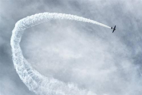 Spektakulär nahmen sich die Kunststücke der Piloten aus. Fotos: VN/Stiplovsek