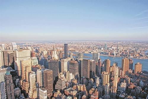 Spektakulärer Blick vom berühmten Empire State Building über die ganze Stadt. Foto: beate rhomberg