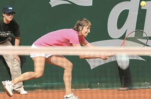 Spielt in toller Form: Yvonne Meusburger. Foto: gepa