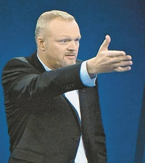 Stefan Raab zählte zum vierköpfigen Moderatorenteam. Foto: EPA