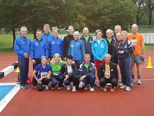 Strahlende Gesichter bei den Medaillengewinnern. Foto: Privat