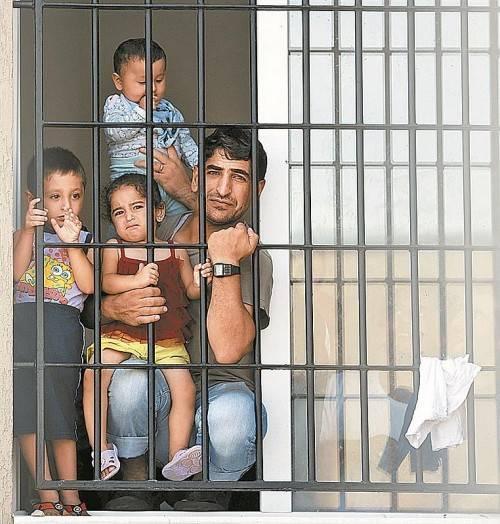 Syrische Flüchtlinge in einem türkischen Lager. Foto: Reuters